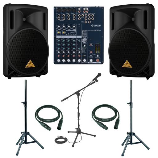 Прокатный комплект звукового оборудования