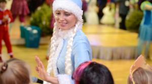 Снегурочка приветствует детей!